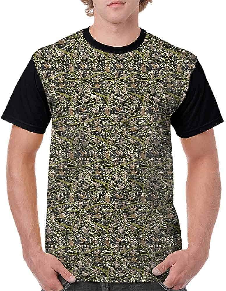 BlountDecor Teen t-Shirt,Relaxing Beach Waterscape Fashion Personality Customization