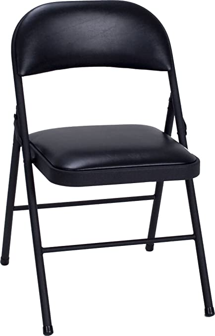 Etonnant Cosco Vinyl Folding Chair Black (4 Pack)