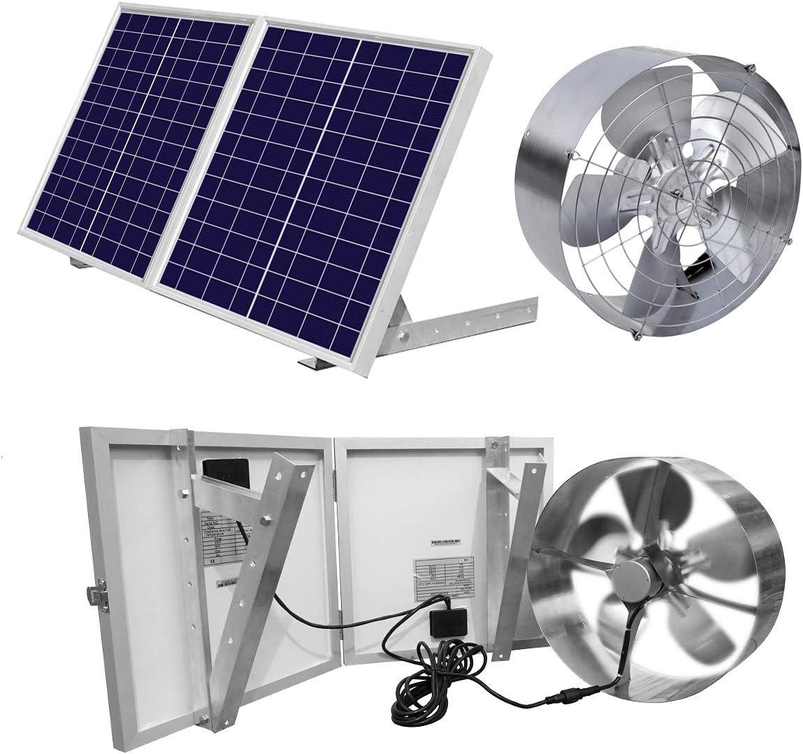 ECO-WORTHY 25W Solar Powered Attic Ventilator
