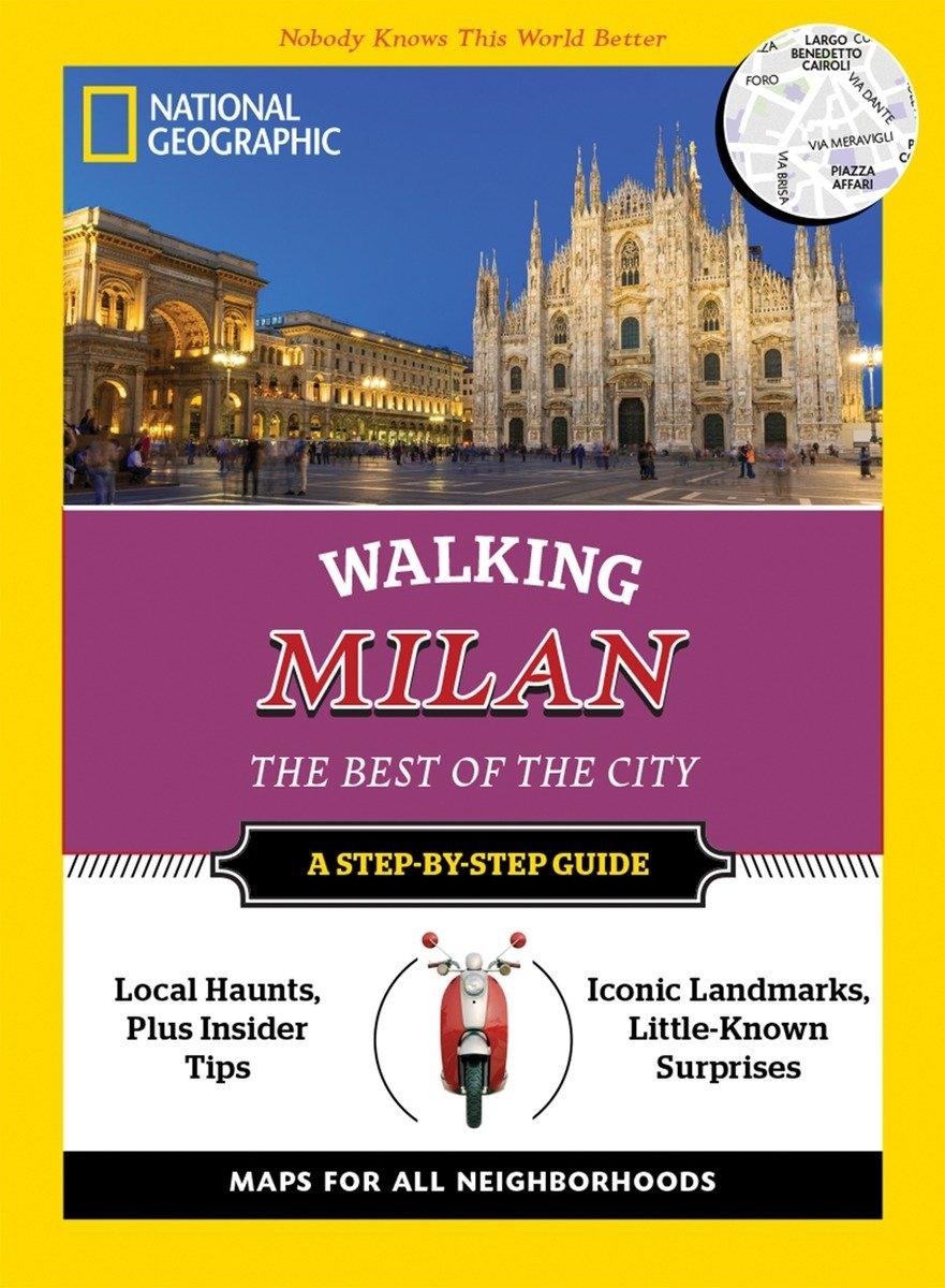 National Geographic Walking Milan Guide product image