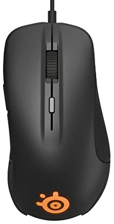 SteelSeries Rival 300, Optical Gaming Mouse – Black