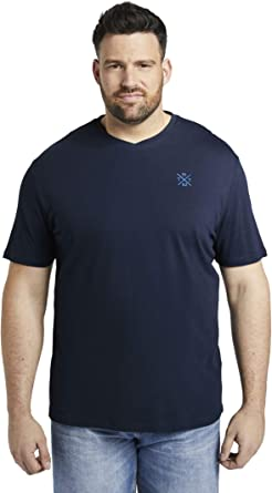 TOM TAILOR Men+ Basic V-Neck Camiseta para Hombre: Amazon.es: Ropa y accesorios