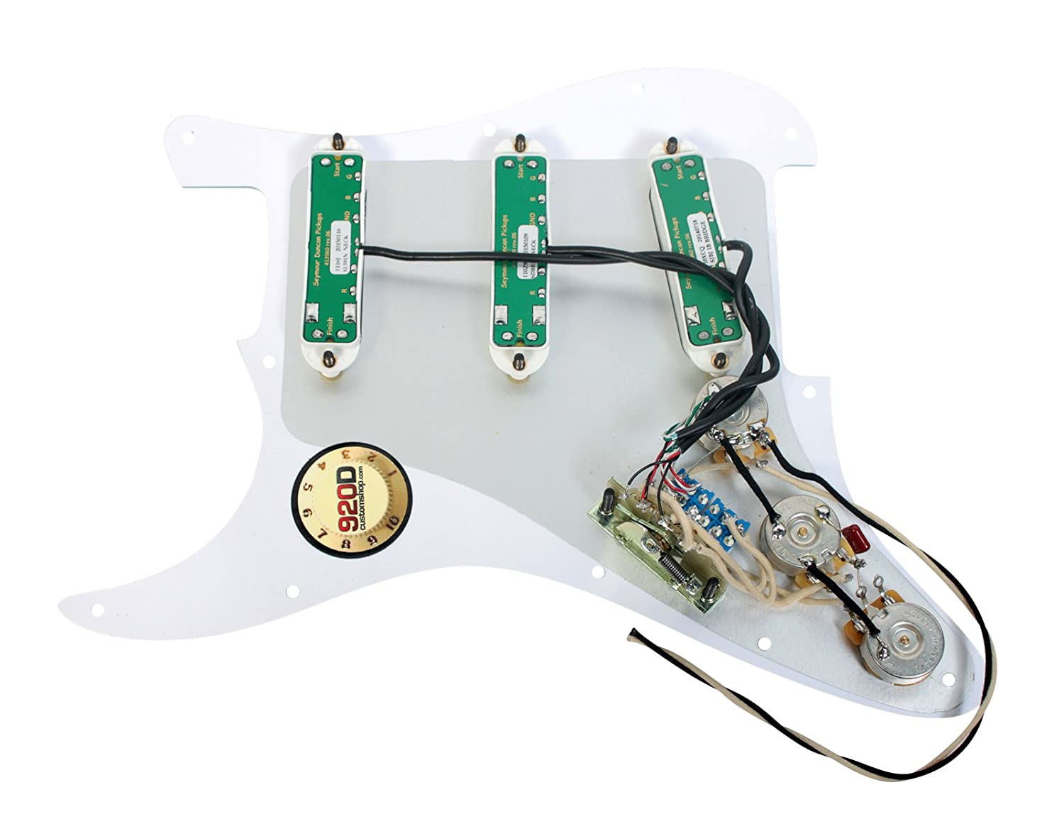 71LNIJvXYdL._SL1500_ amazon com seymour duncan sjbj sdbr sl59 loaded pickguard 920d wiring diagram at webbmarketing.co