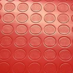 PVC Bodenbelag Noppenbelag Noppe Uni Weiss 8,90 /€ p. m/² Breite: 200 cm x L/änge: 500 cm