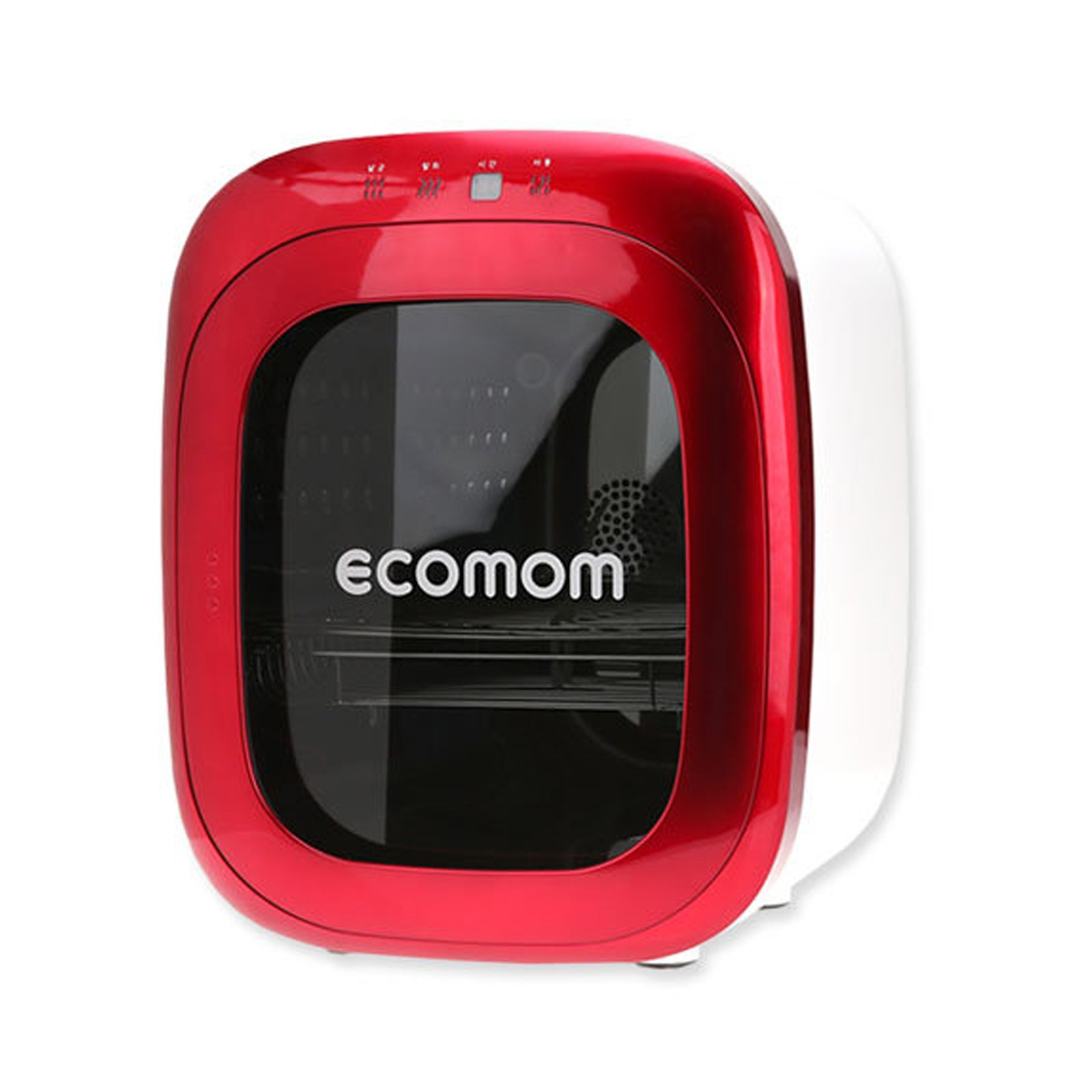 ECOMOM ECO-70KA Luxury Baby Bottle Sterilizer Ultraviolet Anion Deodorant 220V (Red)