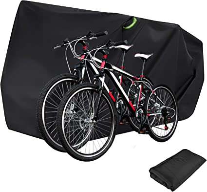 Bike Bicycle Cover Waterproof Outdoor Motorcycle Covers XL XXL for 2//3 Bikes Dust Rain Wind Snow Proof Lock Hole for Mountain Road Electric Bike