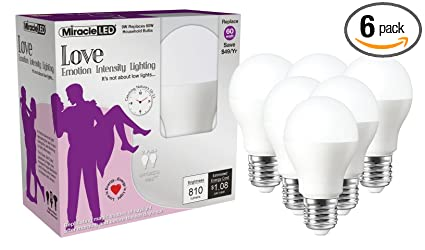 miracle led nature s vibe love emotion intensity lighting led light