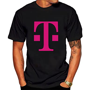 Amazon.com: Men's T Mobile T shirt Black Short Sleeves: Clothing
