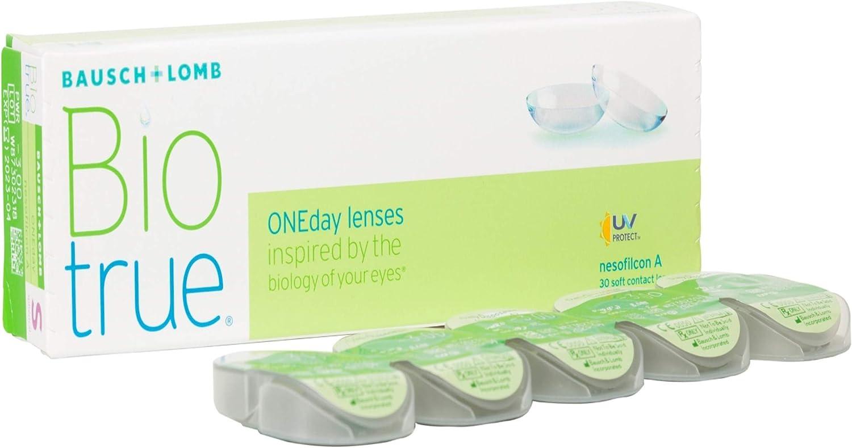 BAUSCH + LOMB - Biotrue® ONEday - Lentes de contacto de reemplazo diario