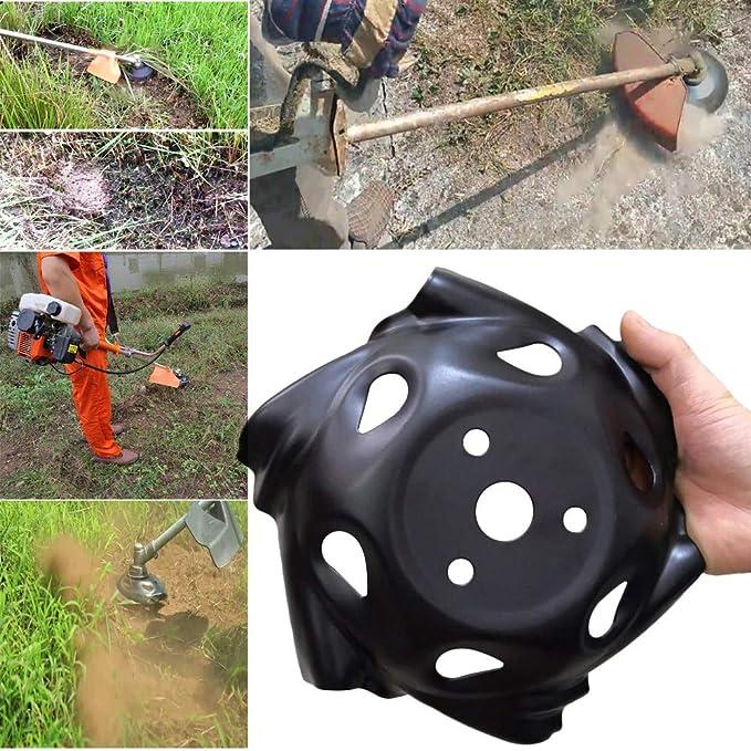 GUCIStyle - Cuchilla de cortacésped de Acero al Carbono – 9,5 Pulgadas, Herramienta de jardín agrícola, Recambio de desbrozadora/Cabezal de Corte ...