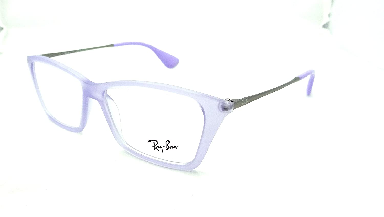 91009e81256 Amazon.com  Ray-ban Rx Eyeglasses Frames Rb 7022 5368 52x14 Lilac Shirley   Shoes
