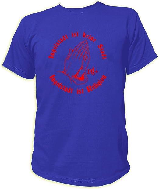 Artdiktat Herren T Shirt Ingolstadt Ist Keine Stadt Ingolstadt Ist Religion Amazon De Bekleidung