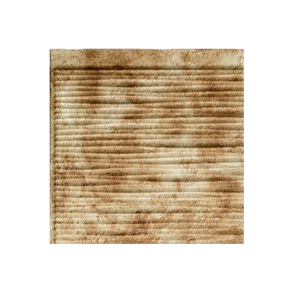 "hot sale 2017 Fasade Easy Installation Ripple Bermuda Bronze Backsplash Panel for Kitchen and Bathrooms (6"" x 6"" Sample)"