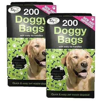 Tidy Z Bolsas para Caca de Perro, 400 Bolsas para Perros con ...