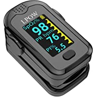 Deals on LPOW Pulse Oximeter Fingertip with OLED Screen Display