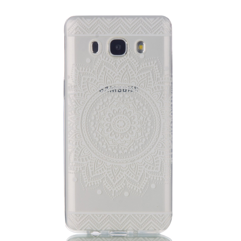 Funda Samsung Galaxy J5 2016, MHHQ Carcasa Transparente para Samsung Galaxy J5(2016) J510 Caso TPU gel de silicona goma suave Cubierta parachoques ...