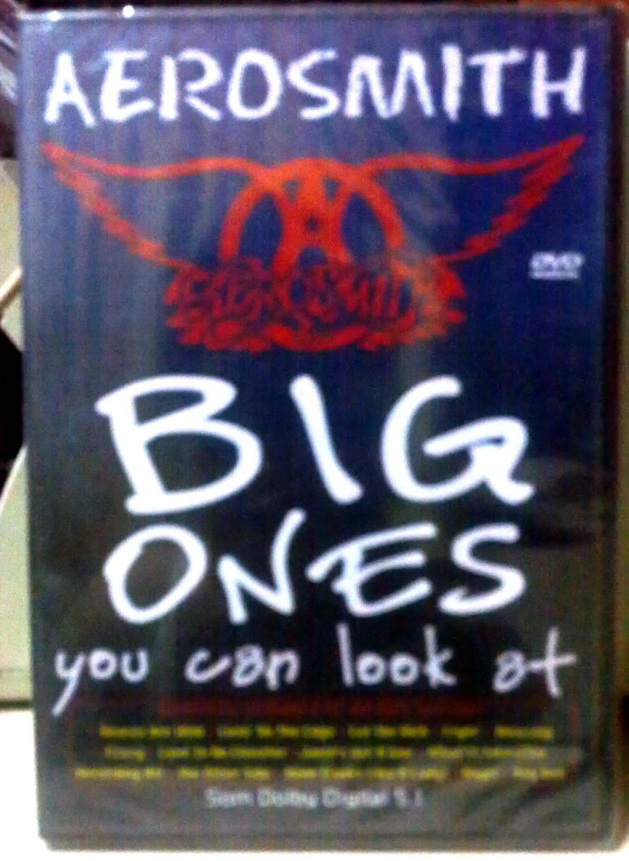 Aerosmith - Big Ones You Can Look At   [DVD] [Import] B000688KZS