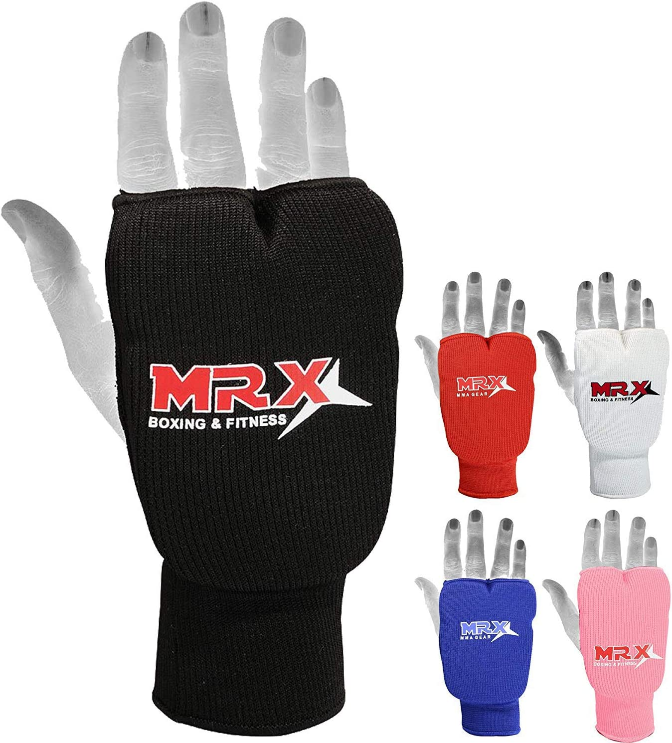Boxing Punch Karate Mitts Elasticated Gym Training Gloves MMA Karate Sparing