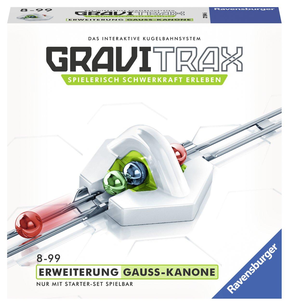GraviTrax Ravensburger 27594 Gauss Kanone Konstruktionsspielzeug Ravensburger Spielverlag