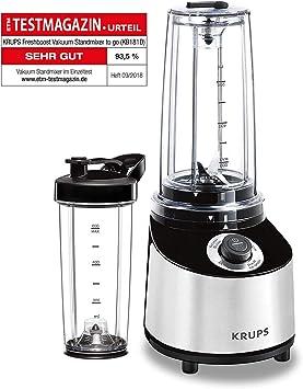 Krups Freshboost Standmixer mit Vakuum Technologie (3 veces más ...