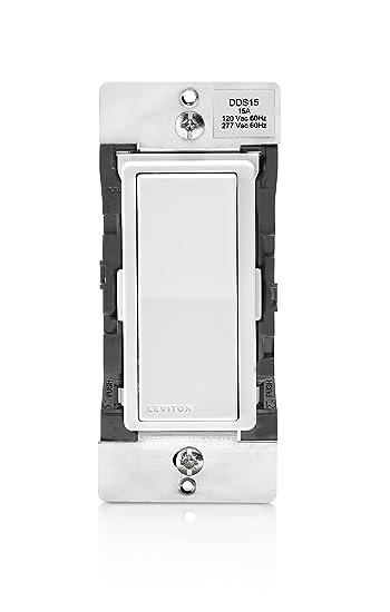Leviton dds15-bdz 15 Amp Dual Spannung 120/277VAC Decora Digital ...