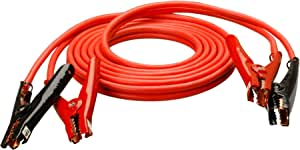 Road Power 86660104 16-Feet, 4-Gauge Heavy-Duty Booster Cable with Polar Glow Clamps Car Battery Jumper Cable