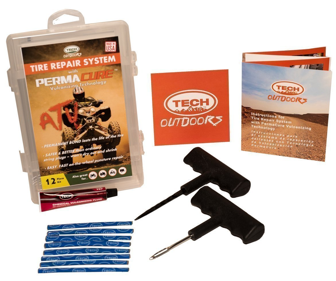 TECH Outdoors 822TOD PermaCure Self-Vulcanizing Tire Repair System Tech International