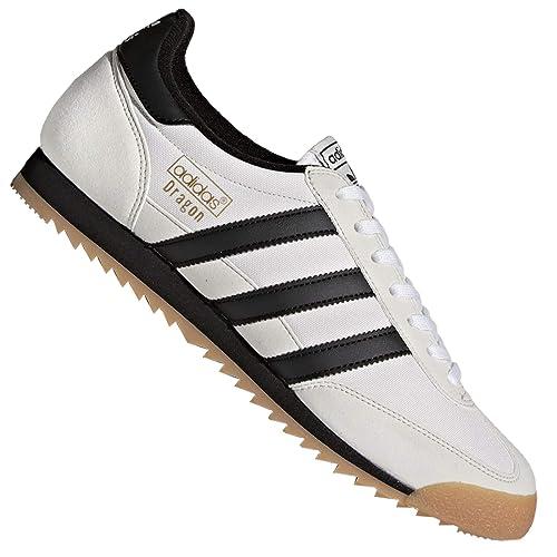 adidas Dragon OG, Zapatillas de Deporte para Hombre, Blanco (Ftwbla/Negbas /