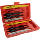 ABN Reciprocating Saw Wood & Metal/Bi-Metal Blade 10-Piece Set – Demolition, Plumbing, General Reciprocate Blades Kit