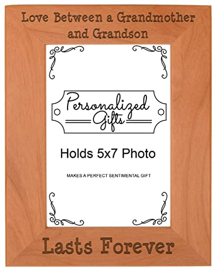 First Time Grandma Gifts Love Between A Grandmother Grandson Lasts Forever Birthday Natural Wood