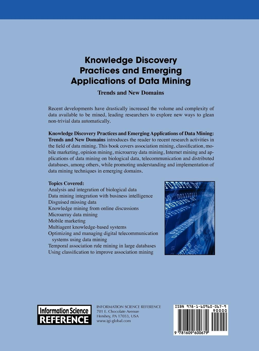 Buy Knowledge Discovery Practices and Emerging Applications