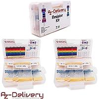 AZDelivery 3 x Kits de Resistencias 525 piezas