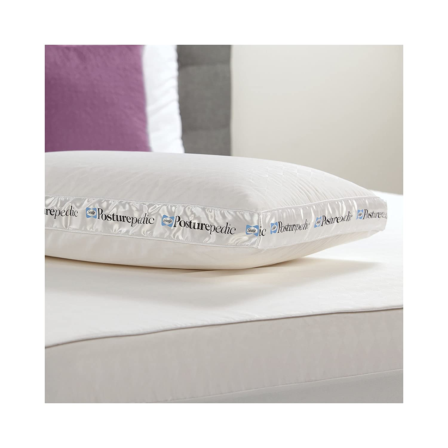 Amazon Sealy Posturepedic Ventilated Latex Bed Pillow Home