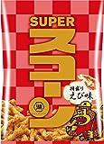 湖池屋 SUPERスコーン 特盛りえび味 75g ×12袋
