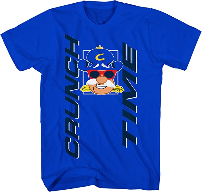 Cap/'n Crunch Cereal Aged Retro Look T Shirt
