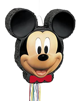 Piñata Mickey de Disney - Animación Juego - Cumpleaños infantiles