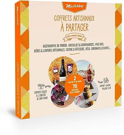 Masterbox - Caja de regalo para compartir, 2 regalos a elección ...