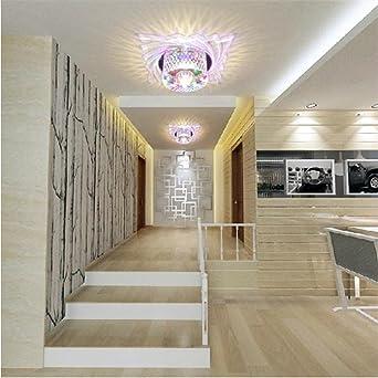 Crystal LED 5W éclairage couloir couloir moderne lampes lampes ...