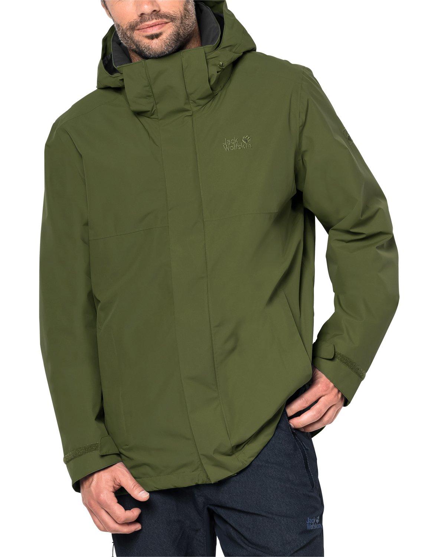 Jack Wolfskin Seven Peaks Jacket Large Cypress Green