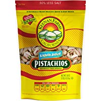 Keenan Farms Roasted Pistachios (Lightly Salted, 1 lb)