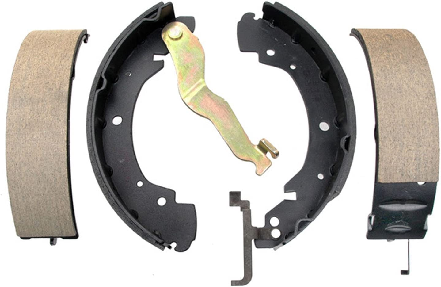 ACDelco 17871B Professional Bonded Rear Drum Brake Shoe Set