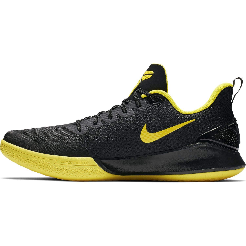 MultiCouleure (noir noir Anthracite Opti jaune 000) 41 EU Nike Mamba Focus, Chaussures de Basketball Homme
