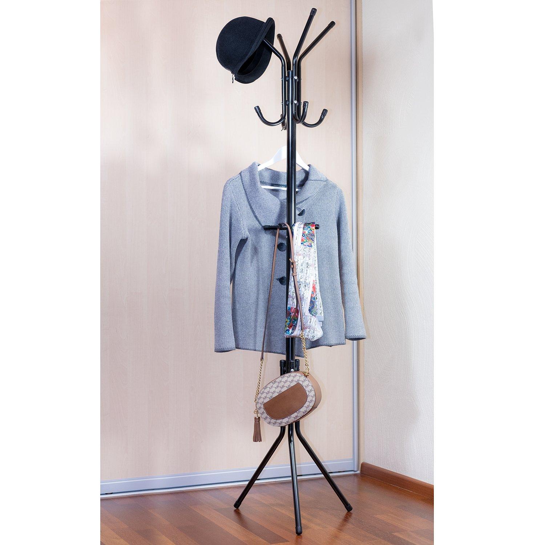 ArtMoon Root Standing Floor Clothes Hanger Coat Hanger Stand Steel 38X44.5X175cm