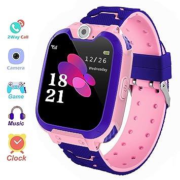Zeerkeer Smartwatch niños, Reloj Inteligente para Niño con ...