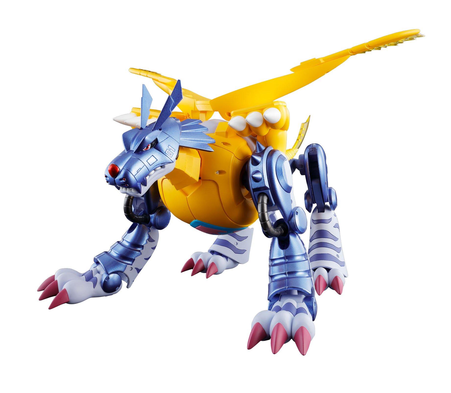 Tamashii Nations Bandai Digivolving Spirits 02 Metal Garurumon Digimon Action Figure