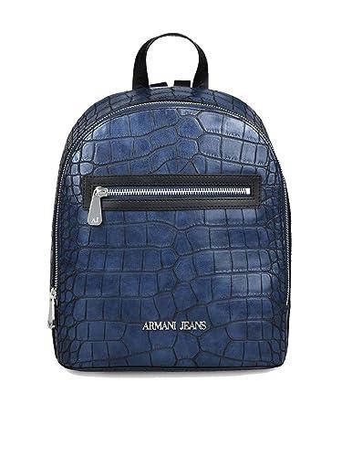 4ff0f25e956 Armani Jeans Crocodile effet sac à dos Marine  Amazon.fr  Chaussures ...