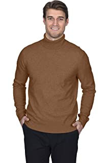 State Cashmere Mens 100 Pure Cashmere Turtleneck Long Sleeve