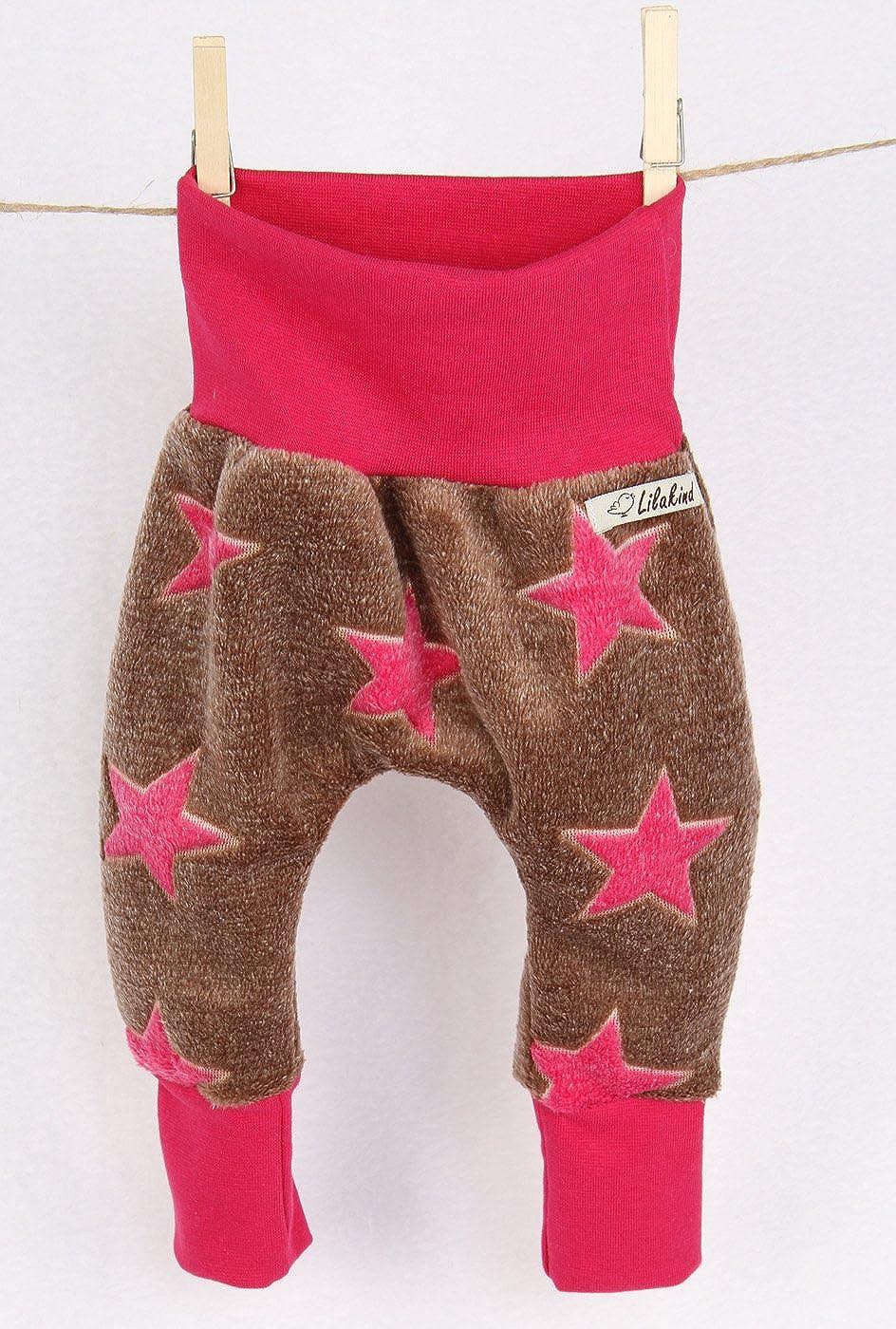 Lilakind Jersey Sweat Pumphose Hose Babyhose Sterne-Hergestellt in Berlin