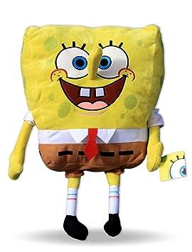 Bob Esponja 50cm Gigante Peluche de Nuevo Diseño Supersoft Muñeco Serie Dibujos Spongebob TV