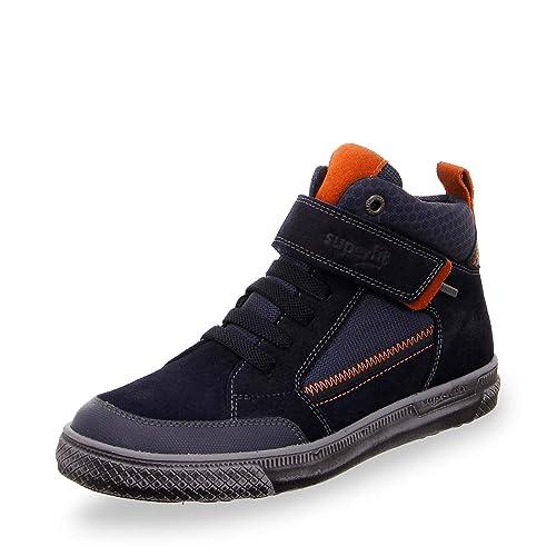 Superfit Jungen Earth 509059 Hohe Sneaker